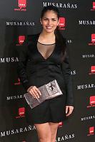 "Sara Salamo attend the Premiere of the movie ""Musaranas"" in Madrid, Spain. December 17, 2014. (ALTERPHOTOS/Carlos Dafonte) /NortePhoto /NortePhoto.com"