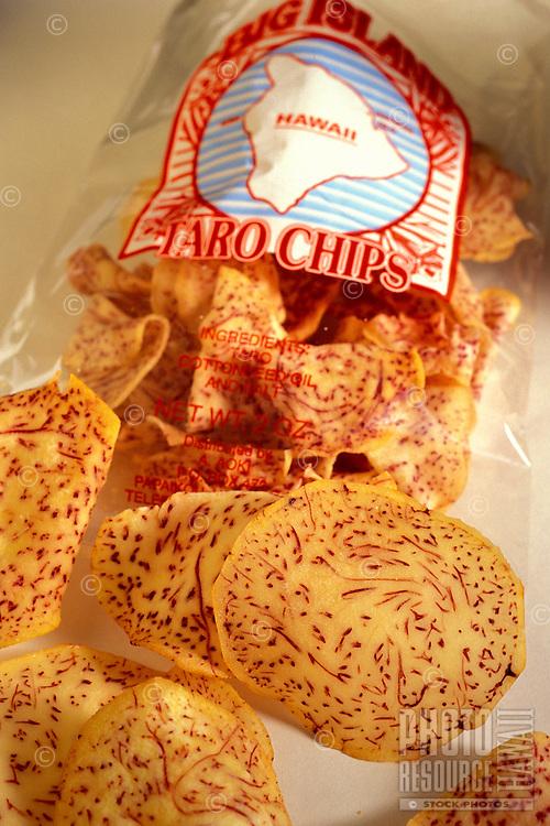 Big Island Taro Chips, based in Papaikou on the Hamakua coast