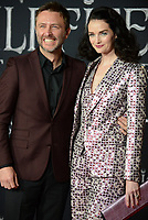 """LOS ANGELES, USA. September 30, 2019: Chris Hardwick & Lydia Hearst-Shaw at the world premiere of """"Maleficent: Mistress of Evil"""" at the El Capitan Theatre.<br /> Picture: Jessica Sherman/Featureflash"""