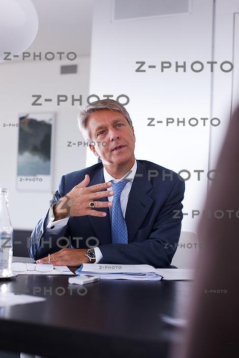 Interview mit Herbert Scheidt, CEO Vontobel im Hauptsitz an der Gotthardstrasse 43 in Zuerich am 9. September 2009<br /> <br /> Copyright © Zvonimir Pisonic