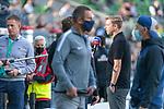 19.09.2020, wohninvest Weserstadion, Bremen, GER,  SV Werder Bremen vs Hertha BSC Berlin, <br /> <br /> <br />  im Bild<br /> <br /> Florian Kohfeldt (Trainer SV Werder Bremen) im Interview heute nicht im Trainingsanzug<br /> <br /> Foto © nordphoto / Kokenge<br /> <br /> DFL regulations prohibit any use of photographs as image sequences and/or quasi-video.