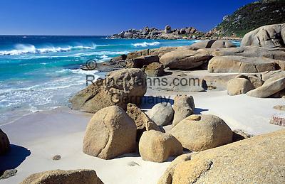 South Africa, Cape Town, Llandudno Bay: deserted, small beach next to Llandudno Beach