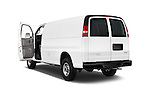 Car images of 2018 GMC Savana-Cargo Work-Van-2500 4 Door Cargo Van Doors