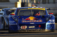 .Boris Said hustles to keep the Red Bull Picchio ahead of the Cegwa Toyota...