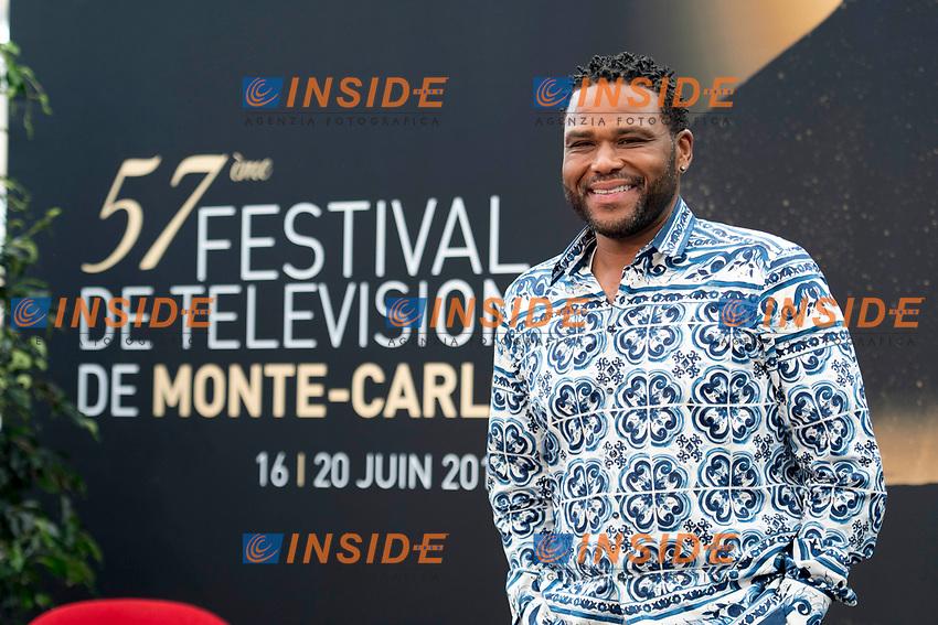 Anthony Anderson (Black Ish) Monaco - 17/06/2017<br /> 57 festival TV Monte Carlo <br /> Foto Norbert Scanella / Panoramic / Insidefoto