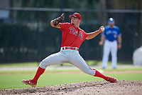 Philadelphia Phillies pitcher Tyler Adams (21) during an Instructional League game against the Toronto Blue Jays on September 27, 2019 at Englebert Complex in Dunedin, Florida.  (Mike Janes/Four Seam Images)