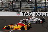 Verizon IndyCar Series<br /> Indianapolis 500 Carb Day<br /> Indianapolis Motor Speedway, Indianapolis, IN USA<br /> Friday 26 May 2017<br /> Ryan Hunter-Reay, Andretti Autosport Honda Will Power, Team Penske Chevrolet<br /> World Copyright: Michael L. Levitt<br /> LAT Images
