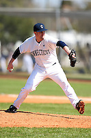 February 28, 2010:  Pitcher Robert Van Woert of the University of Connecticut Huskies during the Big East/Big 10 Challenge at Raymond Naimoli Complex in St. Petersburg, FL.  Photo By Mike Janes/Four Seam Images