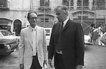 GORE VIDAL CON ITALO CALVINO RAVELLO 1983