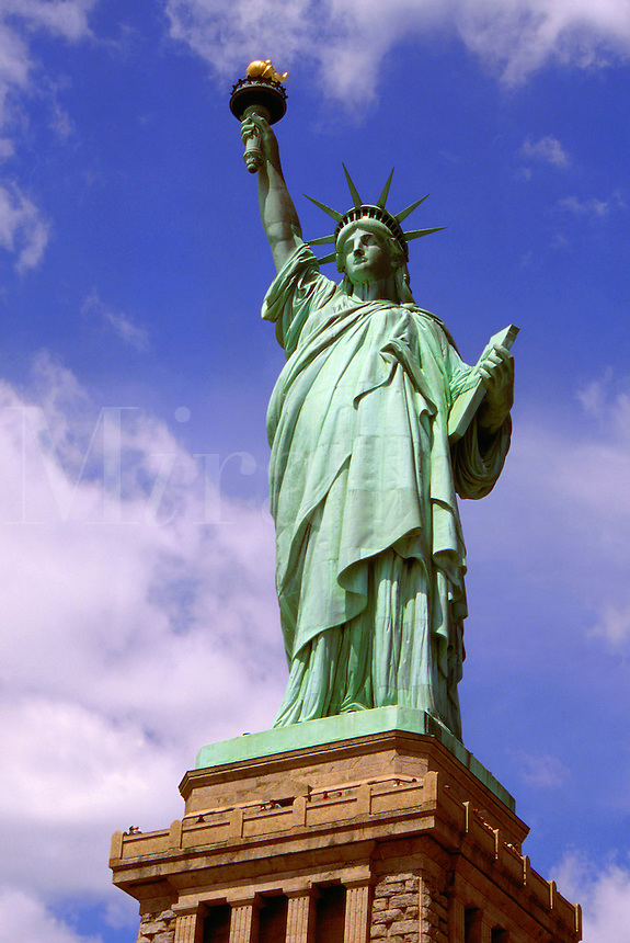The Statue of Liberty. New York.