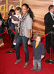 Garcelle Beauvais and sons at Disney Premiere of Tangled held at El Capitan Theatre in Hollywood, California on November 14,2010                                                                               © 2010 Hollywood Press Agency