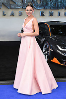 "Laura Haddock<br /> at the ""Transformers:The Last Night"" Global premiere, Leicester Square, London. <br /> <br /> <br /> ©Ash Knotek  D3284  18/06/2017"