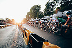 The peloton enter the Champs-Elysees during Stage 21 of the 2019 Tour de France running 128km from Rambouillet to Paris Champs-Elysees, France. 28th July 2019.<br /> Picture: ASO/Thomas Maheux   Cyclefile<br /> All photos usage must carry mandatory copyright credit (© Cyclefile   ASO/Thomas Maheux)