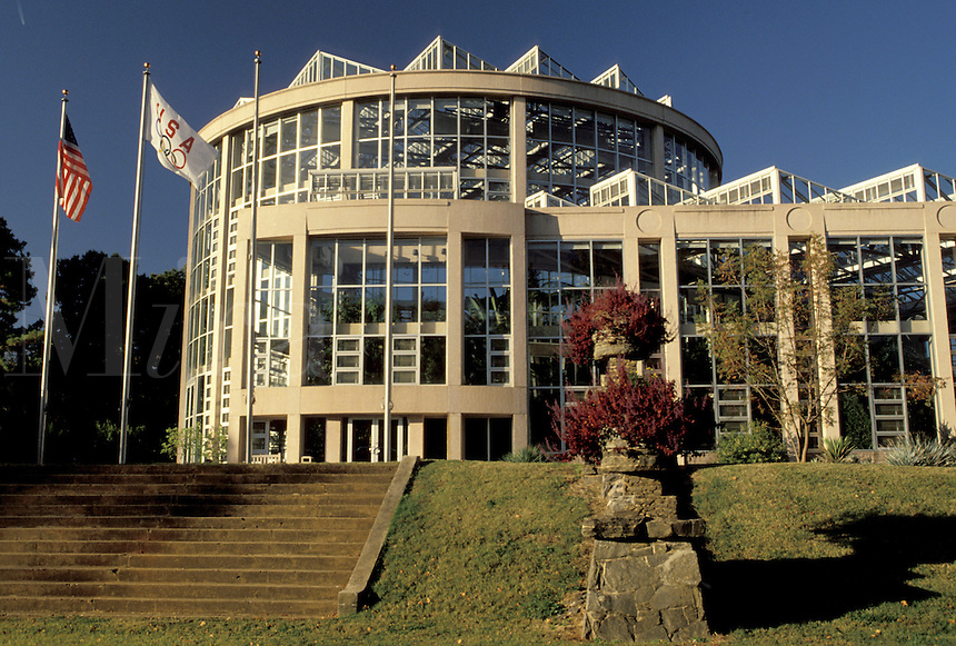 conservatory, Georgia, GA, Atlanta, Dorothy Chapman Fuqua Conservatory at Atlanta Botanical Garden at Piedmont Park..