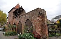 Nederland  Zutphen -  2020.   Oude stadsmuur in Zutphen.   Foto : ANP/ HH / Berlinda van Dam