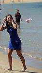 Na Li (CHN), women's champion of the 2014 Australian Open, celebrates  in Melbourne Australia on January 25, 2014.
