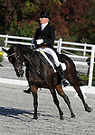 17 October 2008:  Canadian Karl Slezak and Kachemak Bay are in 27th-place after the dressage section of the Fair Hill International CCI*** Championship at Fair Hill Equestrian Center in Fair Hill, Maryland.  Dressage is the first stage of the three-day event.