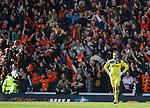 Steve Simonsen dejection after Dundee Utd's third goal