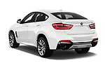 Car pictures of rear three quarter view of 2017 BMW X6 M-sportpakket 5 Door SUV Angular Rear