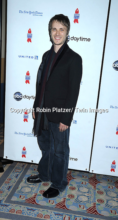 """Jonathan Jackson posing for photographers at The ABC Daytime Salutes Broadway Cares/ Equity Fights Aids """" An Evening of Musical Entertainment and Comedy""""  Benefit after party  on March 13, 2011 at the Marriott Marquis Hotel in New York City."""