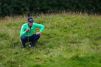 190719 | The 148th Open - Day 2<br /> <br /> Justin Thomas of USA n the 4th during the 148th Open Championship at Royal Portrush Golf Club, County Antrim, Northern Ireland. Photo by John Dickson - DICKSONDIGITAL