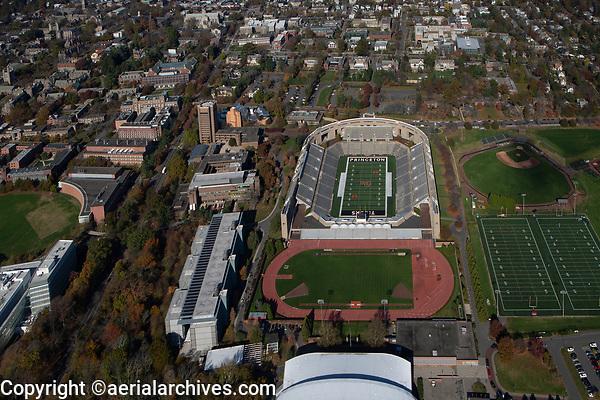 aerial photograph Princeton University Stadium, Princeton, Mercer County, New Jersey