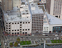aerial photograph Saks Fifth Avenue Union Square San Francisco, California