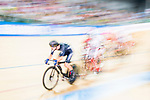 Aaron Gate of New Zealand competes on Men's Omnium Elimination during the 2017 UCI Track Cycling World Championships on 15 April 2017, in Hong Kong Velodrome, Hong Kong, China. Photo by Marcio Rodrigo Machado / Power Sport Images