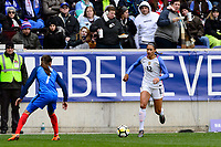 Harrison, NJ - Sunday March 04, 2018: Lynn Williams during a 2018 SheBelieves Cup match match between the women's national teams of the United States (USA) and France (FRA) at Red Bull Arena.