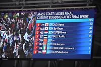 OLYMPIC GAMES: PYEONGCHANG: 24-02-2018, Gangneung Oval, Long Track, Final Results Mass Start Ladies, ©photo Martin de Jong