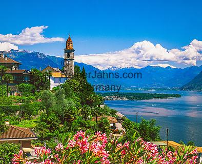 Schweiz, Tessin, Ronco sopra Ascona am Lago Maggiore | Switzerland, Ticino, Ronco sopra Ascona at Lago Maggiore