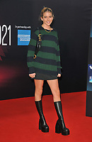 """Olivia Neill at the 65th BFI London Film Festival """"Belfast"""" American Airlines gala, Royal Festival Hall, Belvedere Road, on Tuesday 12th October 2021, in London, England, UK. <br /> CAP/CAN<br /> ©CAN/Capital Pictures"""