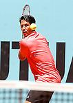 Fernando Verdasco, Spain, during Madrid Open Tennis 2015 match.May, 6, 2015.(ALTERPHOTOS/Acero)