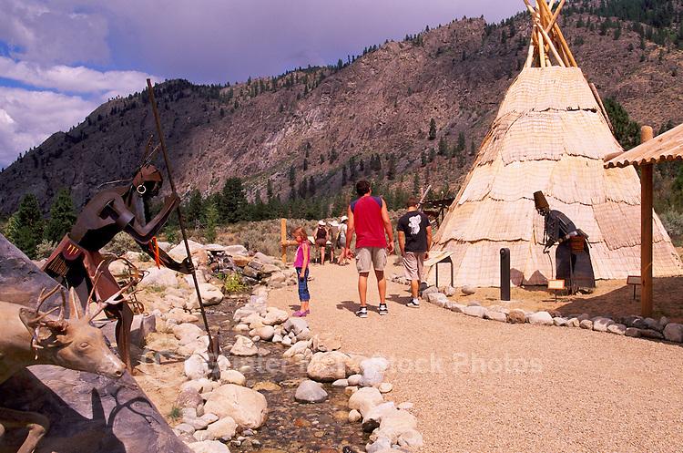 Nk'Mip Desert Cultural Centre (Aboriginal Centre - owned by Osoyoos Indian Band), Osoyoos, South Okanagan Valley, BC, British Columbia, Canada