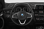 Car pictures of steering wheel view of a 2019 BMW X2 Standard 5 Door SUV