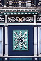 San Francisco, California, USA. Victorian House Decoration.