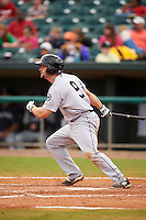 Jackson Generals outfielder Dario Pizzano (9) at bat during a game against the Montgomery Biscuits on April 29, 2015 at Riverwalk Stadium in Montgomery, Alabama.  Jackson defeated Montgomery 4-3.  (Mike Janes/Four Seam Images)