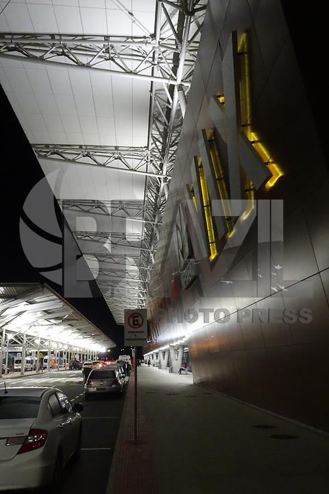 VITÓRIA, ES, 12.05.2019 - AVIAÇÃO-ES - Movimentação no aeroporto de Vitória, Espírito Santo, neste domingo, 12. ( Foto Charles Sholl/Brazil Photo Press/Folhapress)