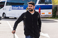 Spainsh Diego Costa arriving at the concentration of the spanish national football team in the city of football of Las Rozas in Madrid, Spain. November 08, 2016. (ALTERPHOTOS/Rodrigo Jimenez) ///NORTEPHOTO.COM