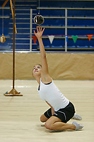 World Eskimo Indian Olympics, One arm reach contest, Fairbanks, Alaska.