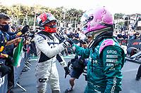 GASLY Pierre (fra), Scuderia AlphaTauri Honda AT02, VETTEL Sebastian (ger), Aston Martin F1 AMR21, portrait during the Formula 1 Azerbaijan Grand Prix 2021 from June 04 to 06, 2021 on the Baku City Circuit, in Baku, Azerbaijan -<br /> FORMULA 1 : Grand Prix Azerbaijan <br /> 06/06/2021 <br /> Photo DPPI/Panoramic/Insidefoto <br /> ITALY ONLY