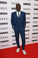 """Oswald Boateng<br /> arriving for the """"Widows"""" special screening in association with Vogue at the Tate Modern, London<br /> <br /> ©Ash Knotek  D3457  31/10/2018"""