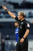 Referee Graham Scott during Tottenham Hotspur vs Everton, Premier League Football at Tottenham Hotspur Stadium on 6th July 2020