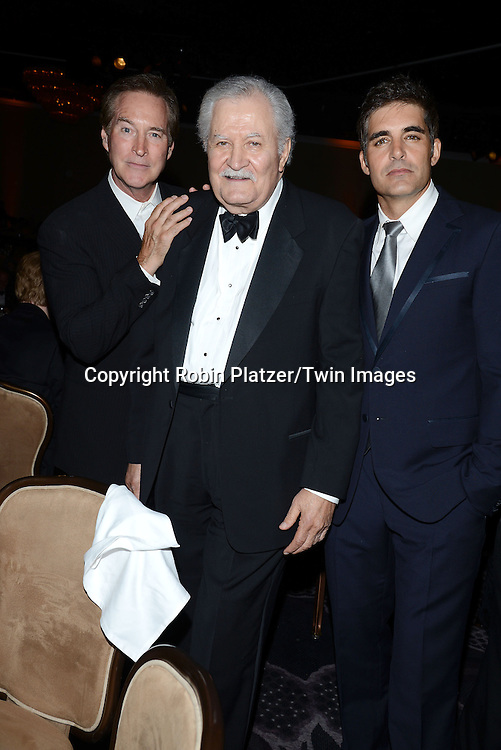 Drake Hogestyn, John Aniston and Galen Gerring attends the 41st Annual Daytime Emmy Awards after party  on June 22, 2014 at the Beverly Hilton Hotel in Beverly Hills,California.<br /> <br /> photo by Robin Platzer/ Twin Images<br /> <br /> 212-935-0770