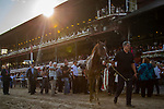 SARATOGA SPRING,NY-AUG 24: Code of Honor,ridden by John Velazques,wins the Travers Stakes at Saratoga Race Track on August 24,2019 in Saratoga Spring,New York. Kaz Ishida/Eclipse Sportswire/CSM
