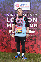 Scott Mitchell<br /> at the start of the London Marathon 2019, Greenwich, London<br /> <br /> ©Ash Knotek  D3496  28/04/2019