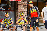 July 12th 2021, Andorre-la-Vielle, France; VAN AERT Wout (BEL) of JUMBO-VISMA during rest day 2 of the 108th edition of the 2021 Tour de France cycling race on July 12, 2021 in Andorre-La-Vieille, France, 12/07/2021