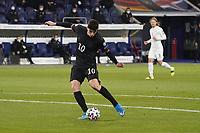 Kai Havertz (Deutschland, Germany) zieht ab und erzielt das Tor zum 2:0 - 25.03.2021: WM-Qualifikationsspiel Deutschland gegen Island, Schauinsland Arena Duisburg