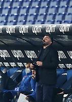 Calcio, Serie A: S.S.Lazio - Napoli, Olympic stadium, Rome, December 20, 2020. <br /> Napoli's coach Gennaro Gattuso looks on during the Italian Serie A football match between Lazio and Napoli at the Olympic stadium, on December 20, 2020.<br /> UPDATE IMAGES PRESS/Isabella Bonotto