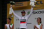 Tejay Van Garderen (USA) BMC Racing Team retains the young rider's White Jersey at the end of Stage 12 of the 99th edition of the Tour de France 2012, running 148km from Saint-Jean-de-Maurienne to Annonay-Davezieux, France. 13th July 2012.<br /> (Photo by Thomas van Bracht/NEWSFILE)